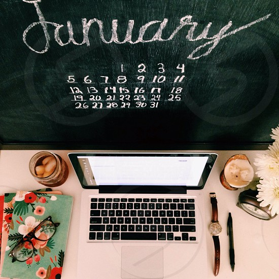 january calendar photo