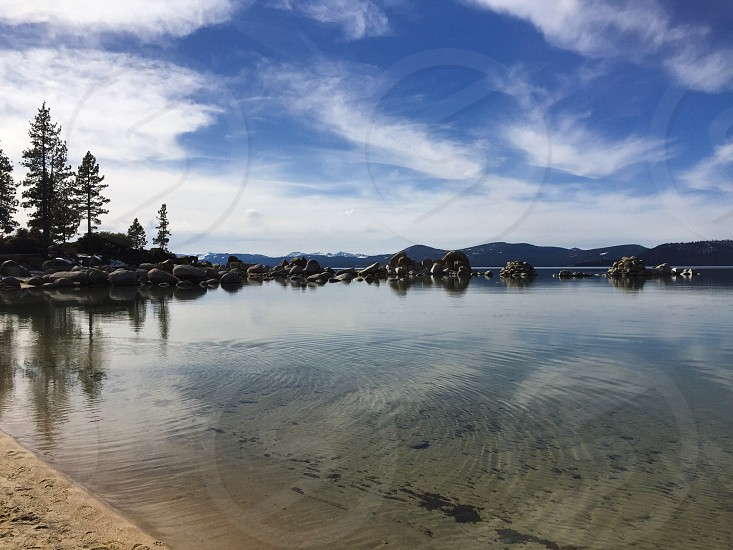 Lake Tahoe  Open Spaces Endless beauty Ripple in time. photo