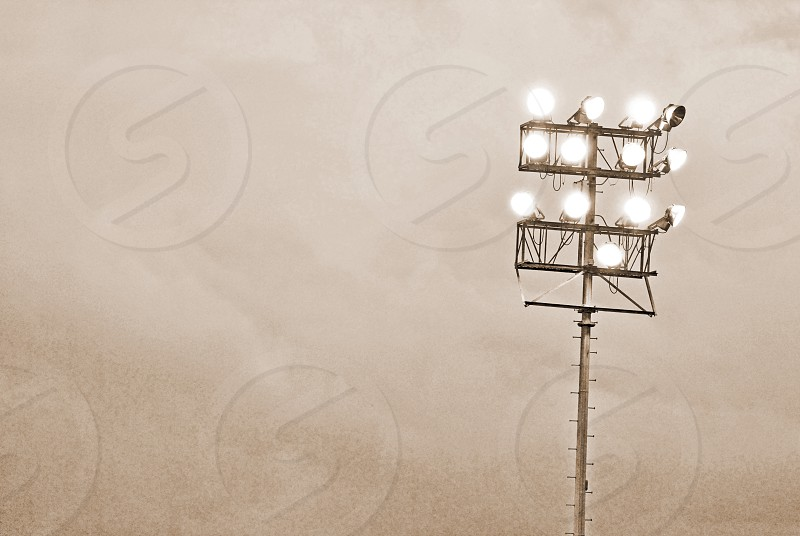 Football lights photo