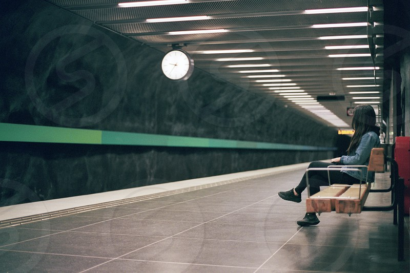 Metro Candid Stockholm Film photo