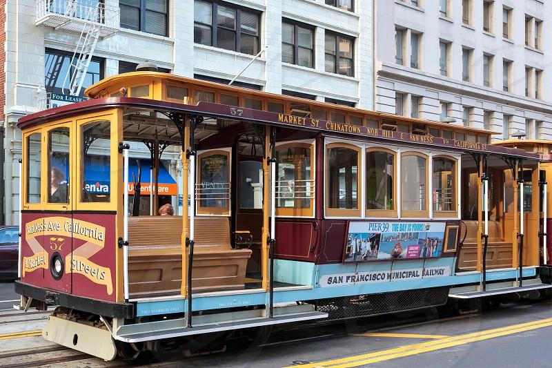 San Francisco cablecar photo