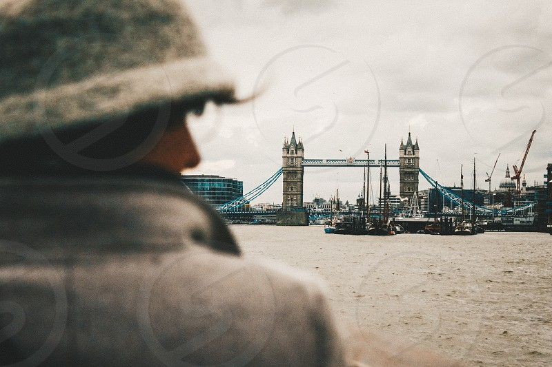 London England UK Europe local city street urban lifestyle blogger Instagram bridge people view water photo