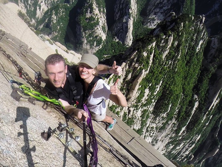 Mt Hua Shan China photo