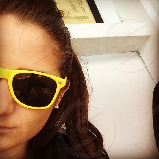 Sunglasses Raybans summer English girls photo