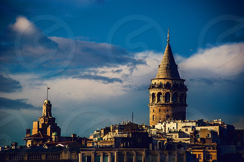 Galata Tower in Istanbul. photo