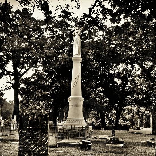 Elizabeth Crockett  Memorial- Davy Crockett's Widow - Hero of the Alamo  photo