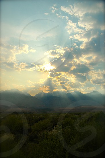Sierras near Mt. Whitney photo