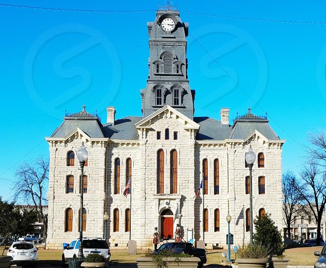 Courthouse in Granbury TX photo