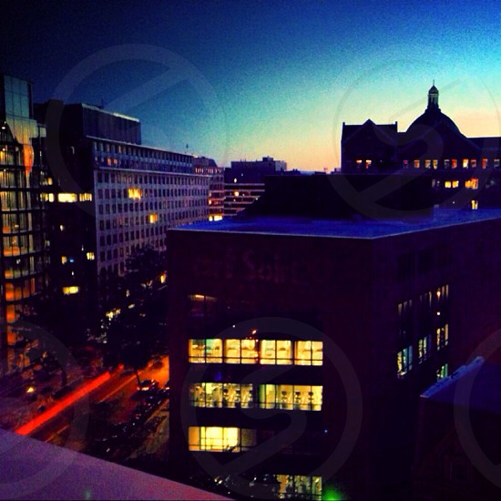 Rooftop in dc photo