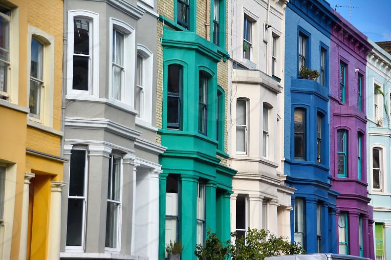 Notting Hill London architecture photo