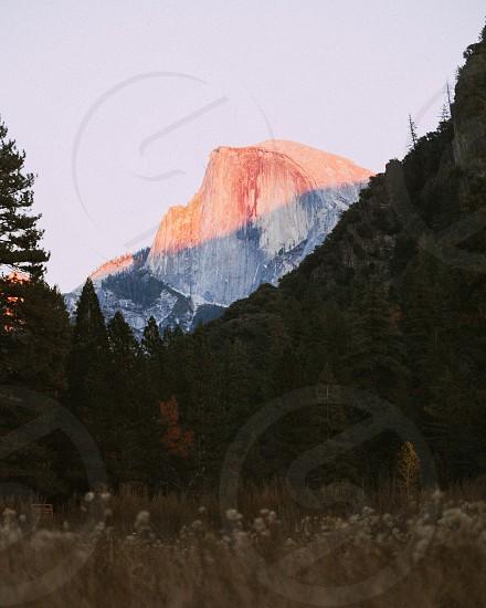 Yosemite landscape sunset California national park USA United States of America Yosemite national park  photo