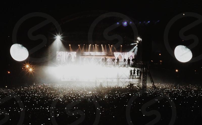 outdoor concert view  photo