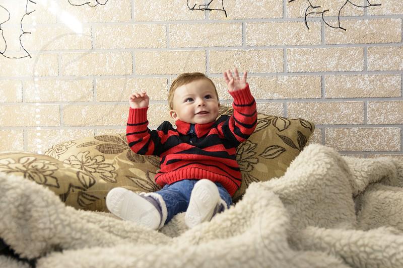 Sweet little boy photo