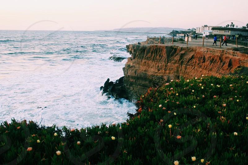 Sunset cliffs pt.1 photo