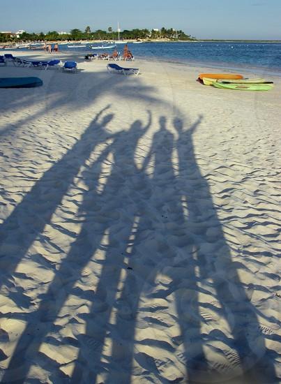 Beach Shadows photo