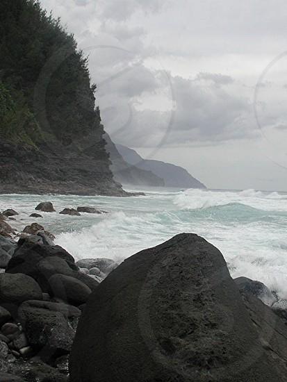 Napoli coast photo