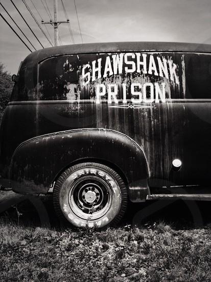shawshank prison 1940s panel suv photo