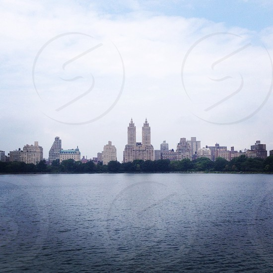 View of the west side from Central Park  photo