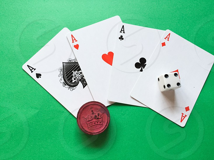 4 aces and dice photo