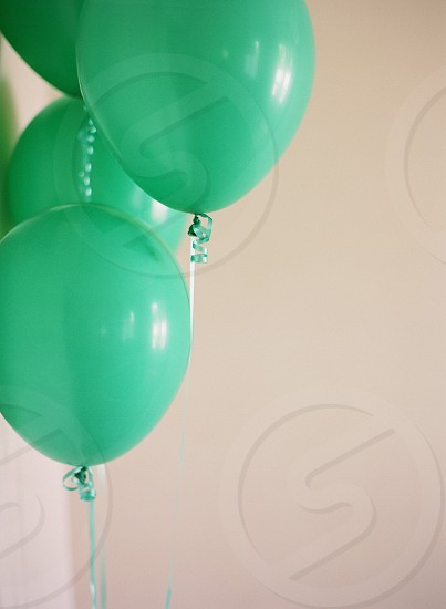 Balloons green party celebrate celebration fun party decorparty accents pretty photo