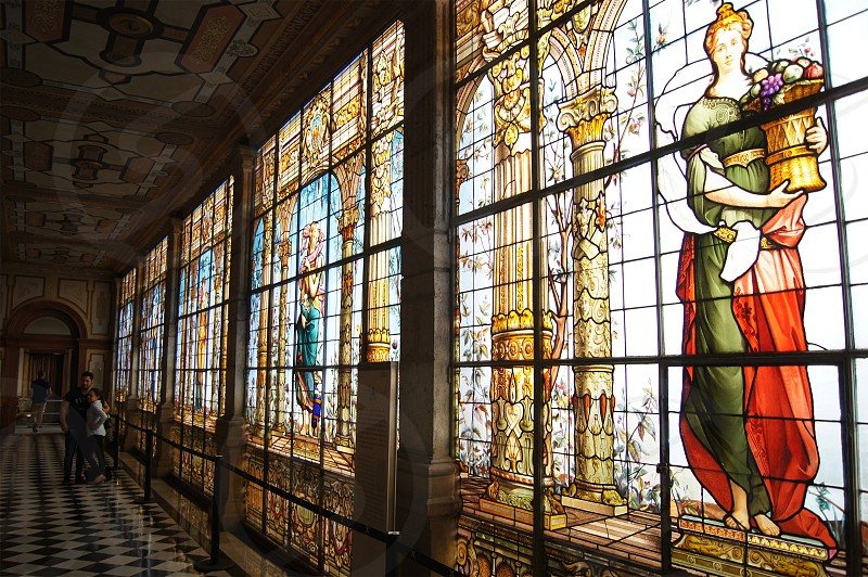 Interior del castillo de Chapultepec photo
