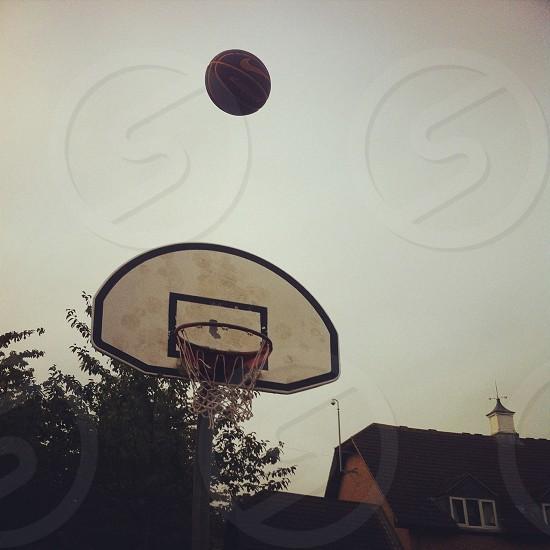 Basketball shot  photo