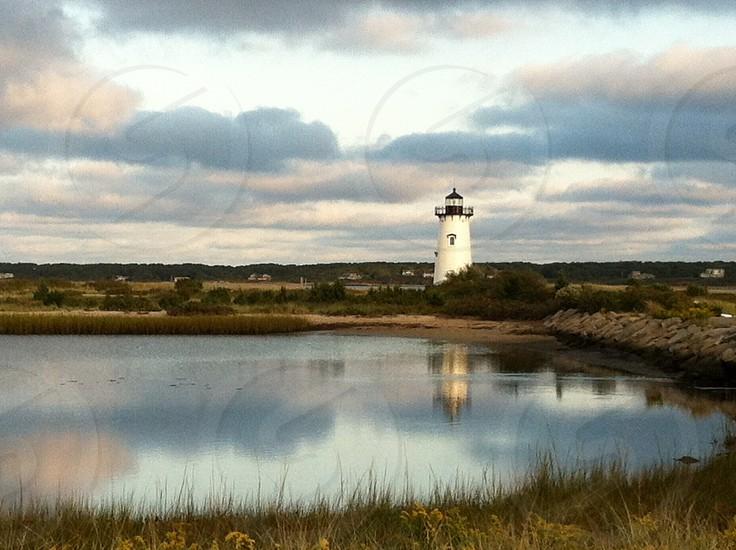 Edgartown Lighthouse Marthas Vineyard photo