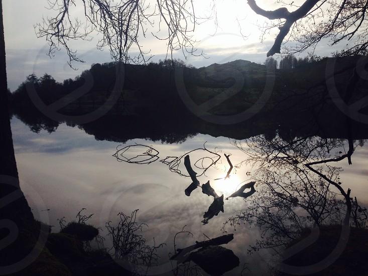 Loughrigg Tarn Cumbria  photo