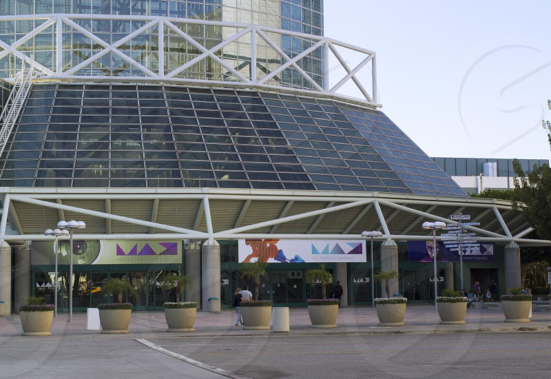 Adobe MAX LA Convention Center entrance convention conference Los Angeles California photo