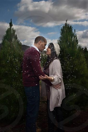 Kissin in the Christmas Magic photo