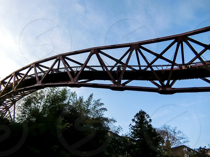 Japan Kanazawa NAKAYAMA Hot Spring AYATORI Bridge bridge travel photo