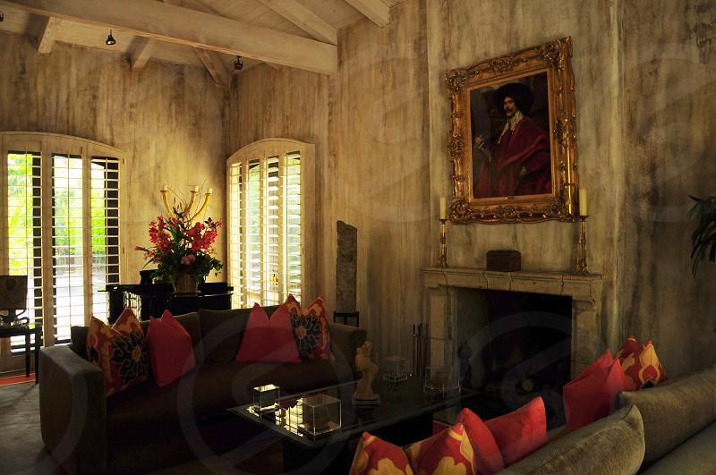 interior of living room photo