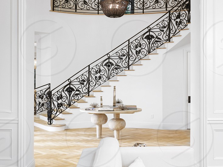 Luxury staircase foyer entry grand interior interiors interior decor interior design luxury home home house photo