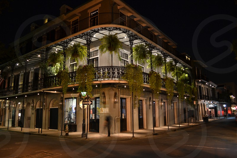 New Orleans night photo