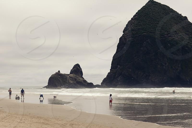 Canon Beach Oregon. photo