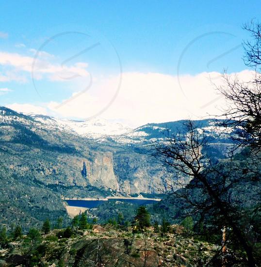 Yosemite; Drive to the falls.   photo