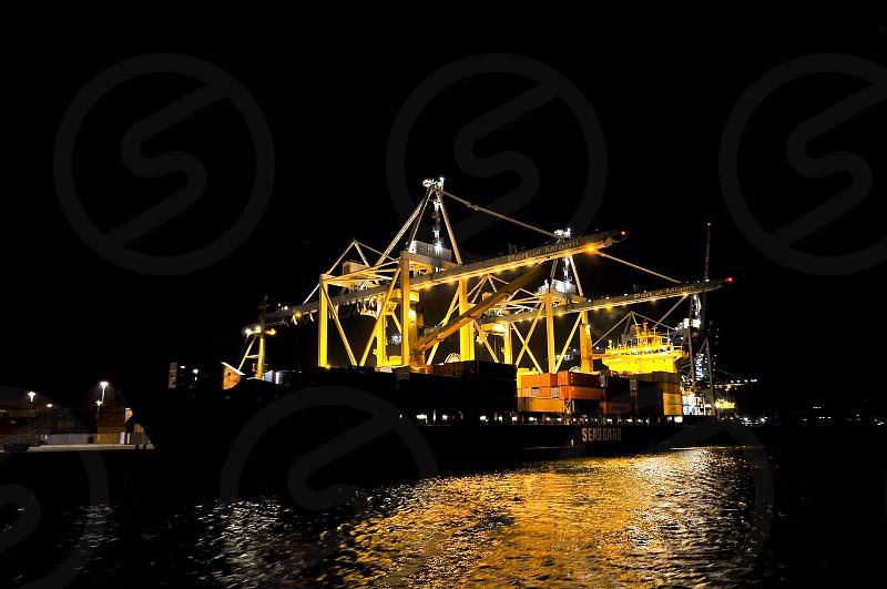 Port of Miami Port Miami Florida Cargo Maritime cargo Maritime international cargo Freight Shipping Cargo Terminal Import Export Container photo