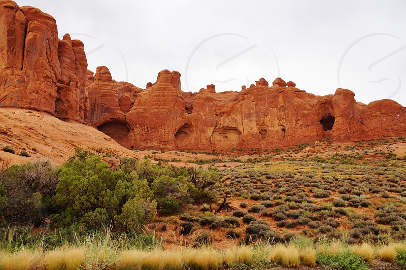 Arches National Park in Moab Utah photo