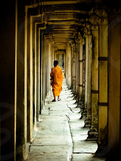 Angkor Monk photo