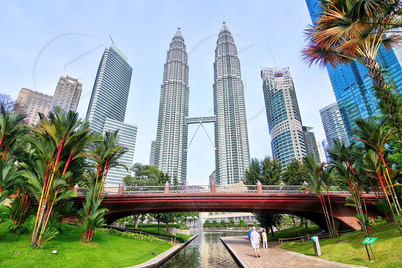 petronas twin towers or klcc was one of the tallest building in the world it attracts thousands of tourists  each year photo