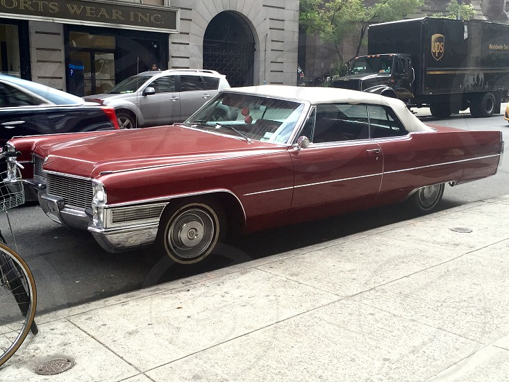 Vintage Cadillac car. photo