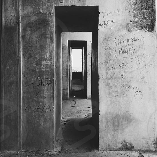 concrete walls photo