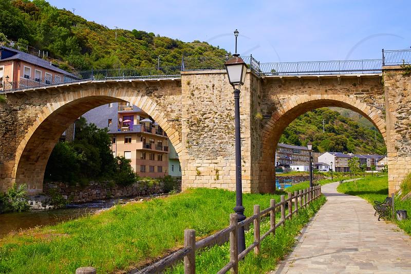 Villafranca del Bierzo by Way of Saint James in Leon Spain photo