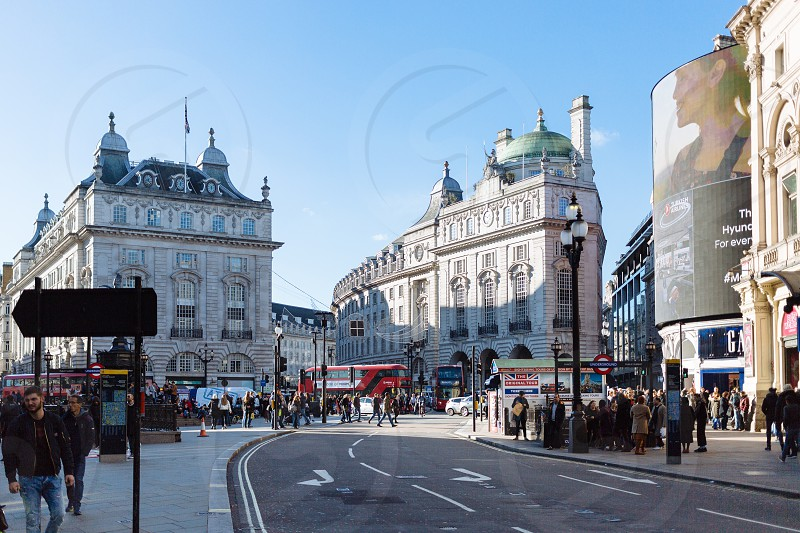 Piccadilly Circus London photo