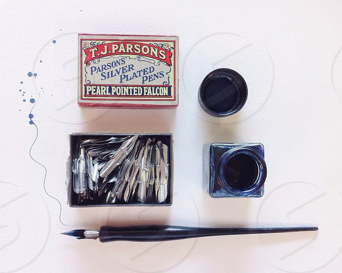 th parsons silver plated pens photo