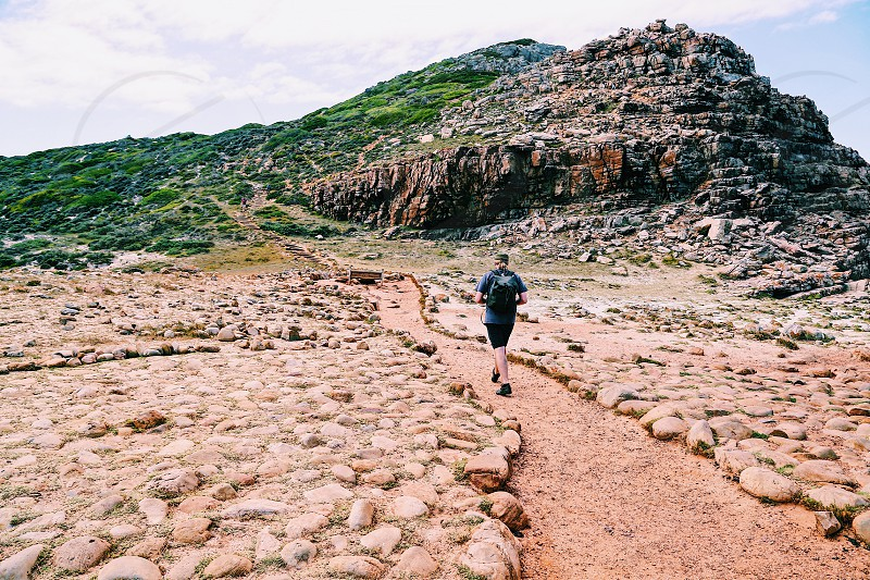 Cape of Good Hope path  walking point South Africa  photo