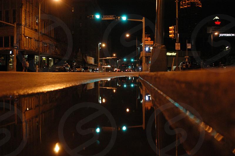 reflection urban street photo
