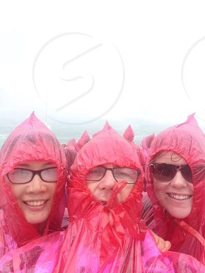 Niagara wet raincoat mist spray soak  photo