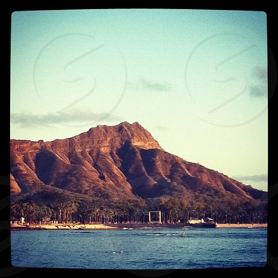 Diamond Head Hawaii  photo