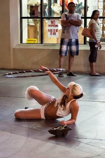 Street Performer in Las Vegas photo
